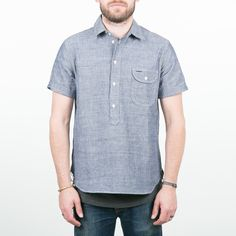 Rogue Territory - Pop-Over Blue Chambray
