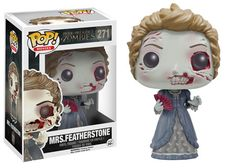 Pride and Prejudice and Zombies Mrs. Featherstone (zombie) Pop figure by Funko