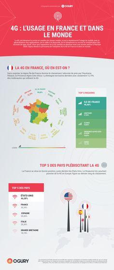 INFOGRAPHIE : la 4G en France et dans le monde