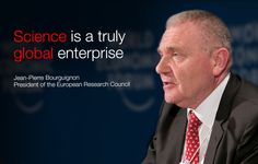 Jean-Pierre Bourguignon at the World Economic Forum Annual Meeting of the New Champions 2014.