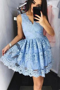 Homecoming Dress,Homecoming Dress Short,Prom Dress Short,Cheap Prom Dresses,Cheap Homecoming Dresses,Cheap Evening Dress,Homecoming Dresses Cheap,Quality Dresses,Party Dress,Fashion Prom Dress,Prom Gowns,Dresses for Girls,Prom Dress,Simple Prom Dresses,Simple V Neck Short Prom Dress,Lace Appliques Floral Homecoming Dress Party Dress,SH107