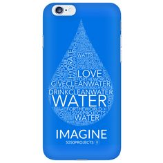 Clean Water Phone Case http://www.5050projects.com/products/clean-water-phone-case