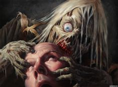 Michael-C-Hayes - Professional, Traditional Artist Creepy Horror, Horror Art, Vampires, Zombies, Dragons, Video Game Artist, Zombie Art, Call Of Cthulhu, Magic The Gathering