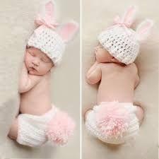 42ff6c1f2f0 Bunny Hat and Diaper Cover Set - Newborn Photo Store