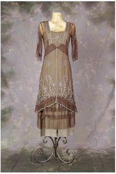 Do you love chocolate? Chocolate color for classic vintage dress from Nataya  #vintage #dress #chocolate http://www.natayadresses.com/1412-thickbox/nataya-al-2101-titanic-dress-in-chocolate.jpg