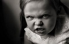 This little girl can have anything she wants, as long as she promises not to get angry!