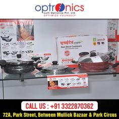 Shop from our showroom for electronics and get higher discount on several useful electronic products. Venue: 72A, Park Street Phone: +91 3322870362