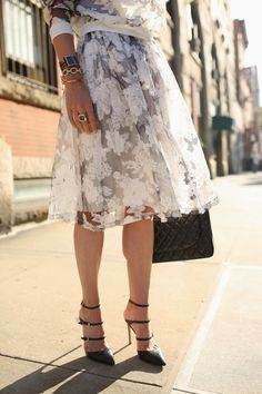 Lacey skirt. Image Via: Atlantic Pacific