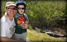 Chris Kratts' top picks for family friendly animal experiences around the world. Galapagos, Yellowstone, Kangaroo Island, Belize, Oregan's Rouge River, Brazil's Pantanal, and Botswana all make the list.