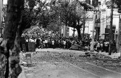 03 de outubro de 1968 - A batalha da Maria Antonia, estudantes da UNE x estudantes do Mackenzie.
