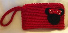 Minnie Mouse Wristlet Purse by Shannanagans13 on Etsy