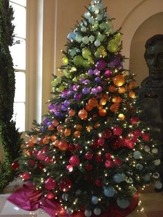 ombre christmas trees - Google Search