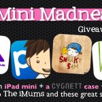 The iMums Tantalizing Three! Win an iPad Mini + Case + Apps – Minimadness #3