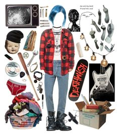 """""""Chloe Price, LISBTS"""" by bufftsuki ❤ liked on Polyvore featuring Barefoot Dreams, AllSaints, Laundry, American Apparel, Topshop, Charlotte Russe, Dsquared2, Deathwish, FOSSIL and HAY"""