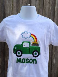 Personalized St. Patrick's Day Shirt   by OurLilBowtique on Etsy, $25.00