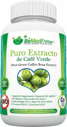 Café Verde Puro pastillas de 800 mg es la Ultímate