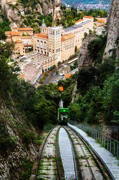 Funicular de Sant Joan, Montserrat, Barcelona