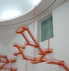 Second Means of Egress by Sarah Sze
