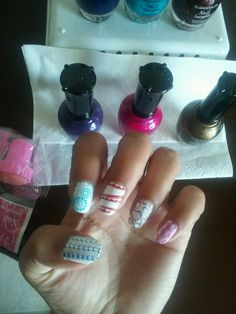 Kleancolor Polishes great for nail stamping