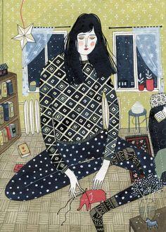 iiiinspired: ART, ILLUSTRATION _ works by yelena bryksenkova    http://ybryksenkova.blogspot.hu/