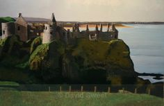 Autumn Dunluce - Paintings