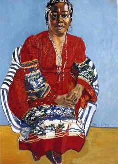 ALICE NEEL. Faith Ringgold, 1976, oil on canvas.