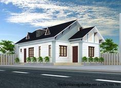 Tổng hợp 11 mẫu nhà cấp 4 nông thôn đẹp, thiết kế nhà cấp 4 đẹp giá rẻ tại vùng quê