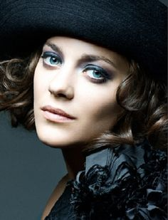 Marion Cotillard, she looks just like my mother in her 20's...