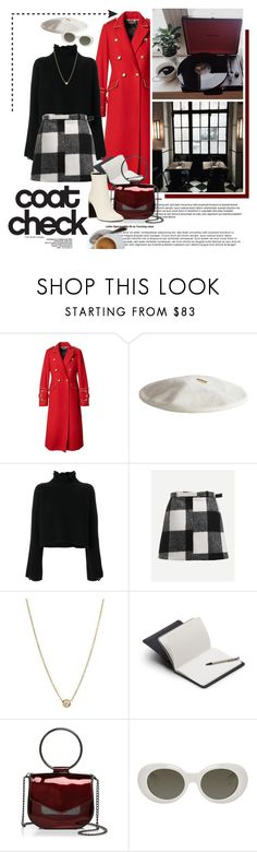 """coat check"" by emyemoemu ❤ liked on Polyvore featuring Banana Republic, Janessa Leone, Golden Goose, ZoÃ« Chicco, Bellroy, Nasty Gal, Acne Studios and rag & bone"