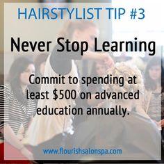 Hairstylist Tip #3