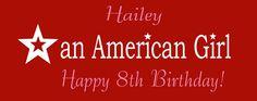 An American Girl Banner 180340   sign11.com