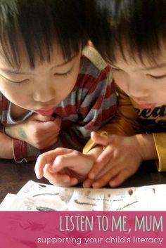 Practical ways to support literacy through listening.