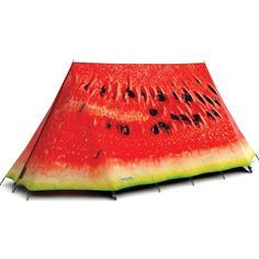 """Con esta """"suculenta"""" tienda de camping sandia fabricada en algodón 100%…"""