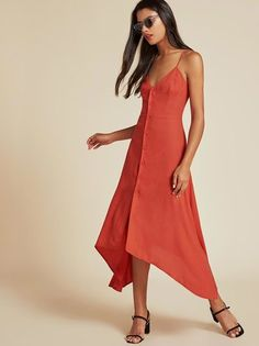 The Savanah Dress   https://www.thereformation.com/products/savanah-dress-persimmon?utm_source=pinterest&utm_medium=organic&utm_campaign=PinterestOwnedPins