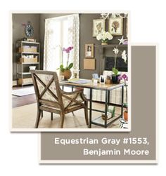 Catalog Paint Colors   Ballard Designs Style Studio ~ Benjamin Moore Equestrian Gray