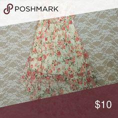 Rose Lace Hi-low Dress Strapless hi-low dress Fashion Magazine Dresses High Low