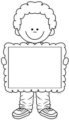 Quilt label for kids? Borders And Frames, Writing Paper, Colouring Pages, Pre School, Classroom Decor, Preschool Activities, Preschool Pictures, Crafts For Kids, Clip Art