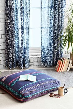 Magical Thinking Stitched Floor Pillow - Urban Outfitters