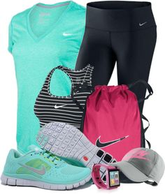 """Workout Clothes Contest #2"" by lifebeautiful on Polyvore"