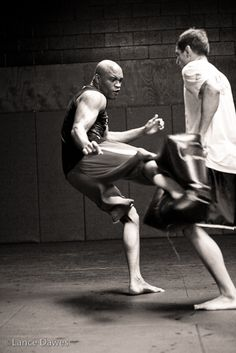 ♂ Black & white photography  World martial art Black House by Lance Dawes