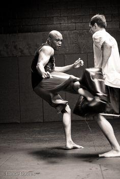 ♂ Black & white photography  World martial art Black House by Lance Dawes