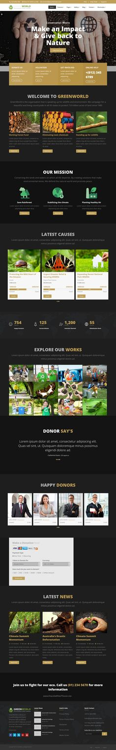 Denoy - Fundraising \ Donation PSD template Church, Fundraising - ngo templates