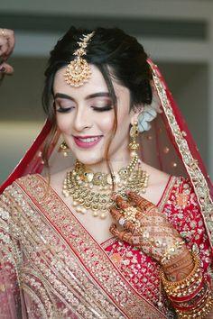 Indian Bridal Photos, Indian Bridal Outfits, Indian Bridal Fashion, Indian Bridal Wear, Bridal Dresses, Asian Bridal, Wedding Photos, Bridal Makeup Images, Best Bridal Makeup