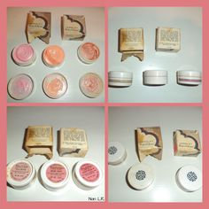 Set of three Yardley Pot o'Gloss Cheek Glosses. Two are dated 1970 and two have their original boxes. The shades are TEA ROSE, CREAMY PEACH and REEF PEACH. Sold for $88.98 in 2017.
