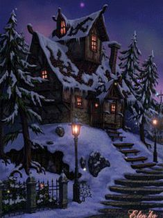 Merry Christmas Happy New Year To you and your Family . Merry Christmas Happy New Year To you and your Family . Christmas Scenes, Christmas Past, Merry Christmas And Happy New Year, Christmas Pictures, Winter Christmas, Vintage Christmas, Family Christmas, Animiertes Gif, Animated Gif
