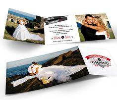 Dankeskarten zur Hochzeit mit eigenen Bildern und Texten
