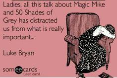 50 Shades Of Grey Magic Mike Luke Bryan