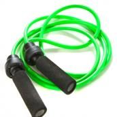 Pack a jump rope in your carry-on to work out anywhere while you're on vacation.