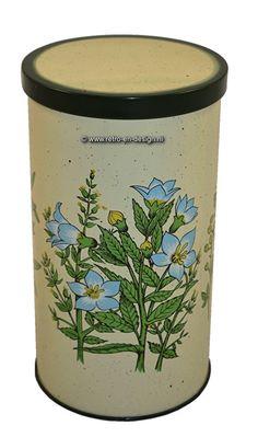 Vintage beschuitbus met bloemendecor Beschuitbus met bloemendecor Mooie vintage…