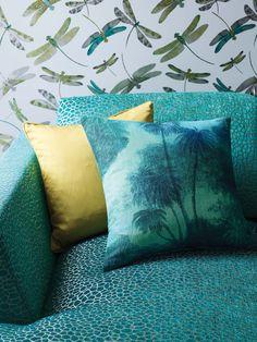 Samana fabrics by Matthew Williamson at Osborne & Little